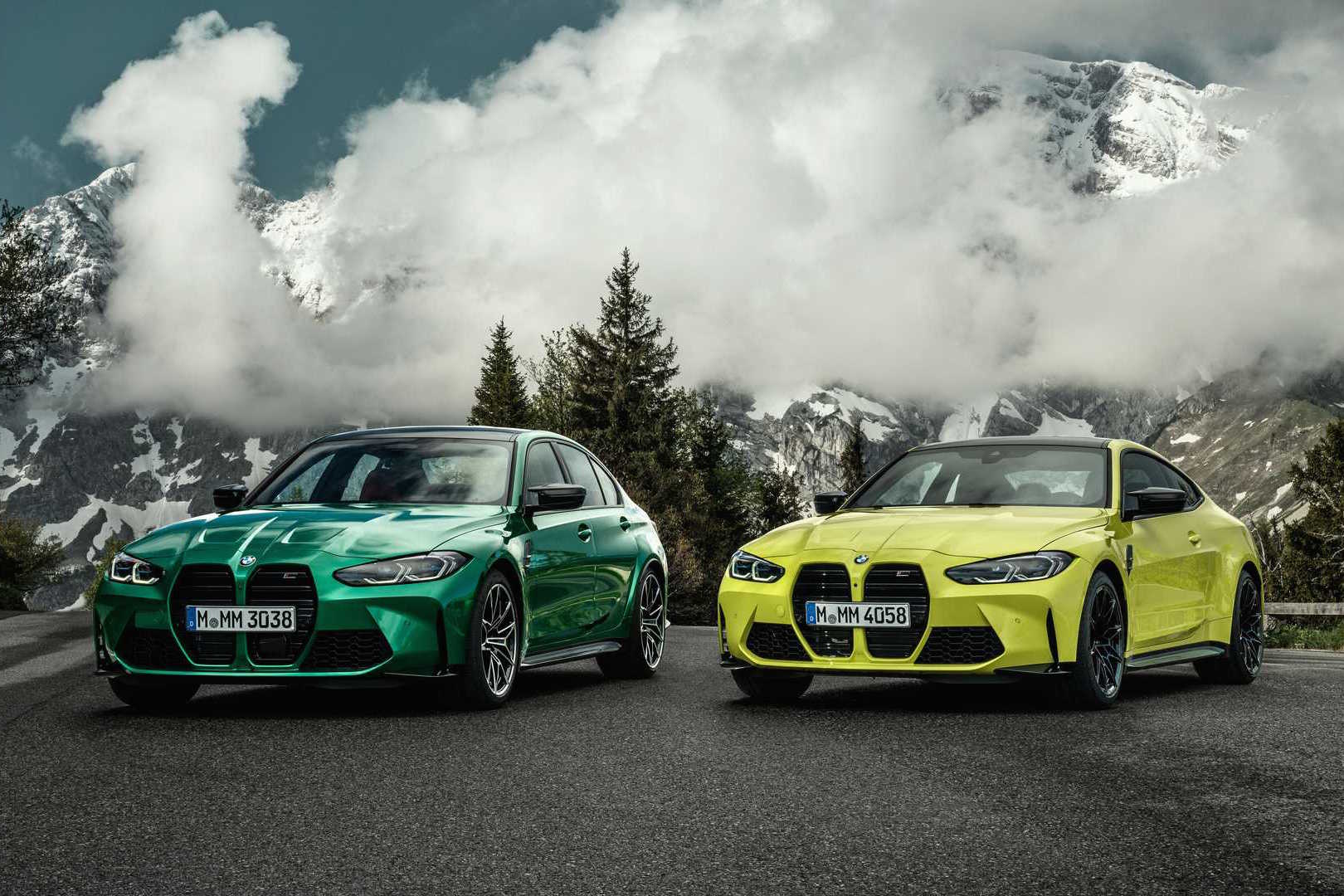 2021 BMW M3 and BMW M4
