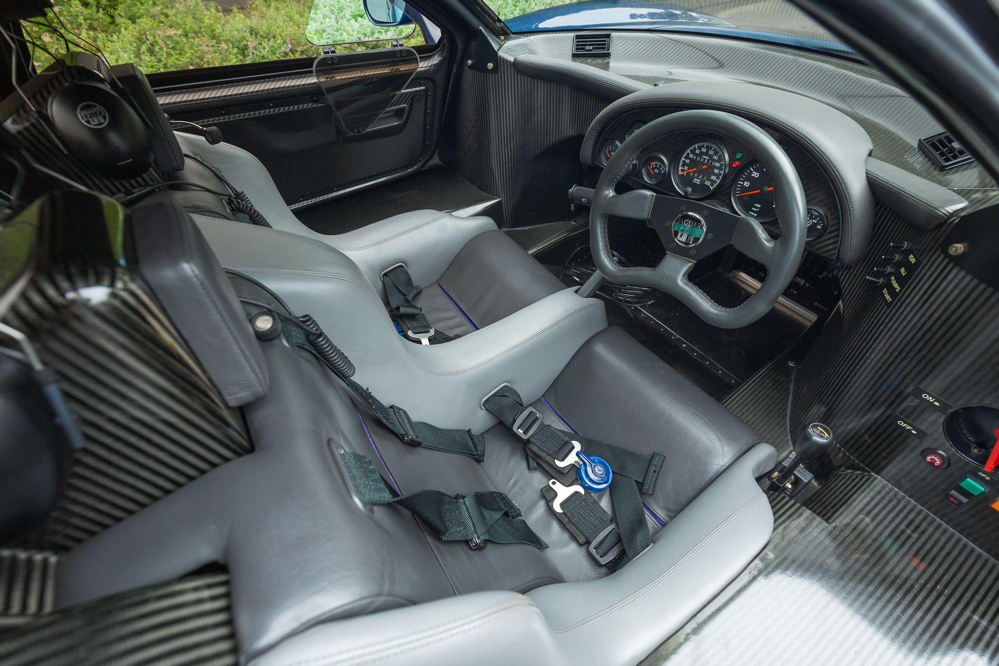 1991 Jaguar XJR-15 Interior
