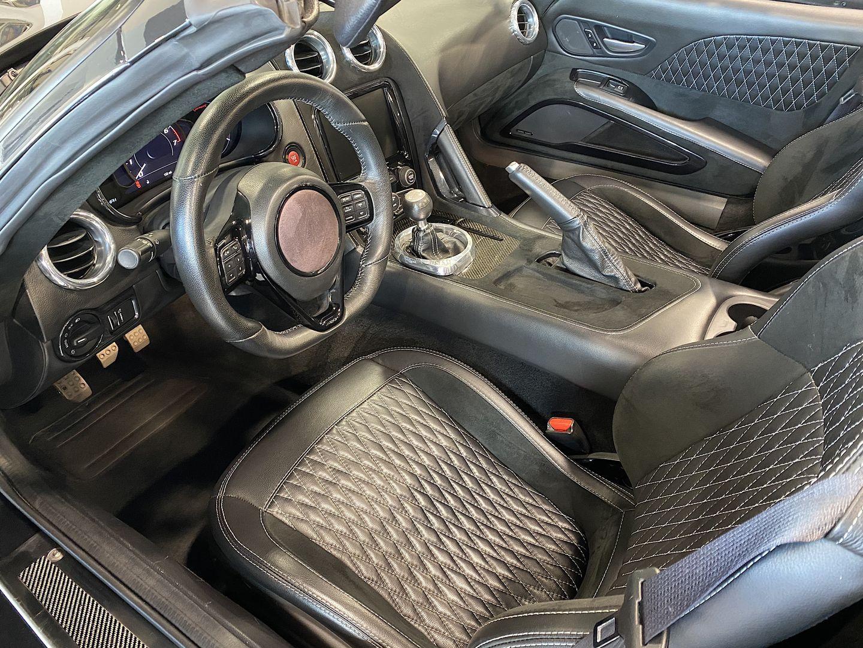 2017 VLF Force 1 V10 Roadster Interior