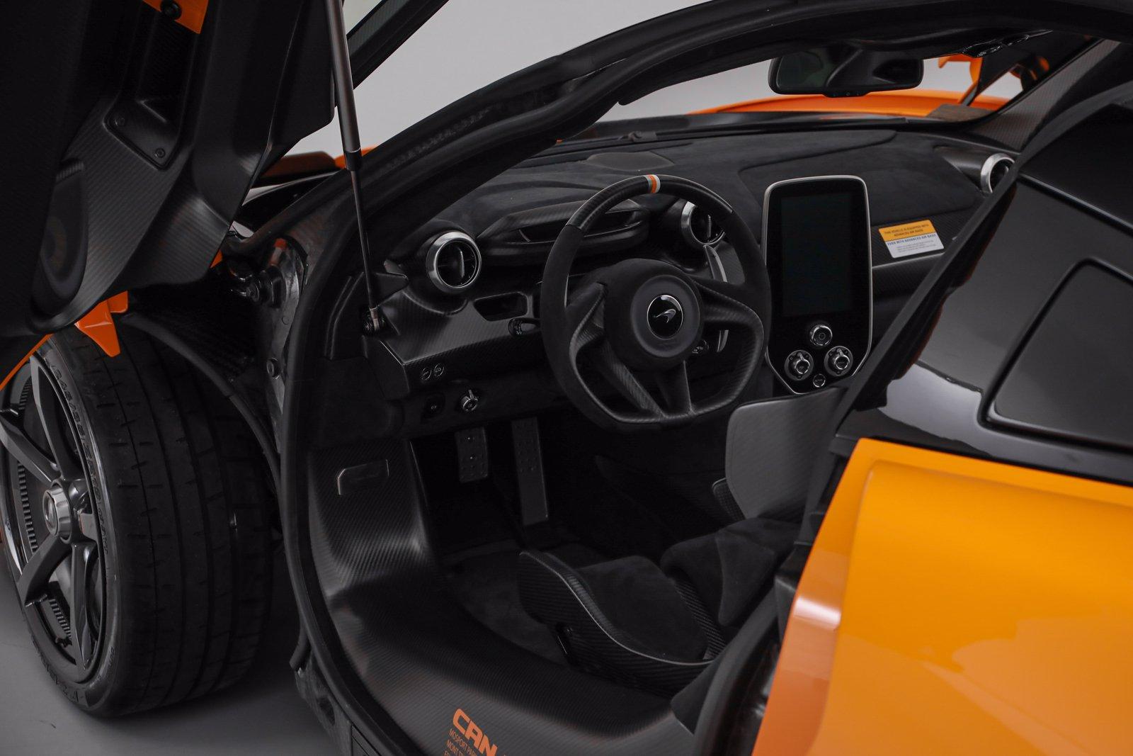McLaren Senna Can-Am Interior