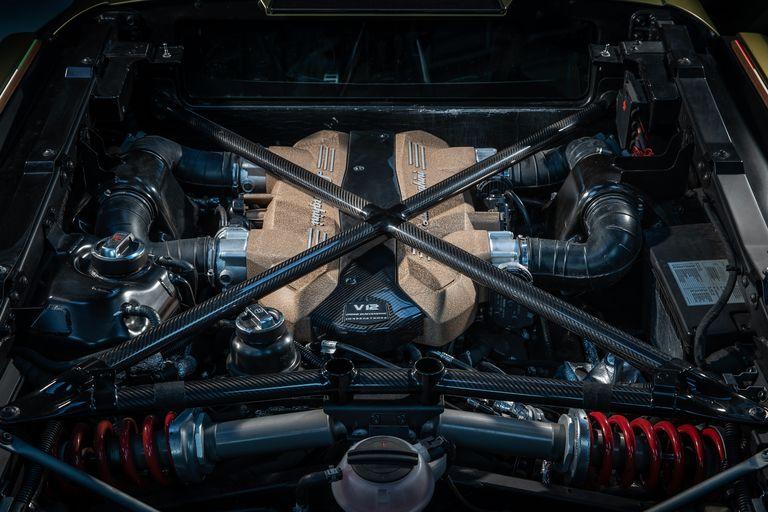 2021 Lamborghini Sián Engine