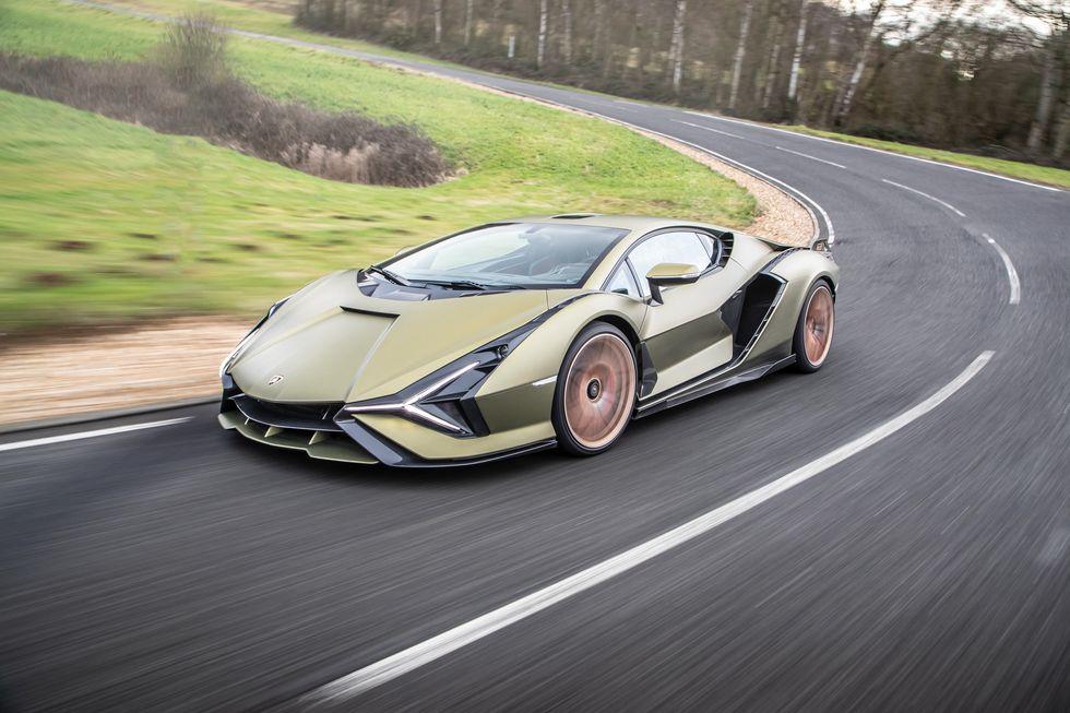 2021 Lamborghini Sián