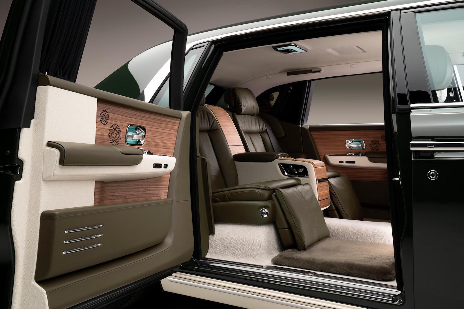 Hermes Rolls Royce-Phantom Interior