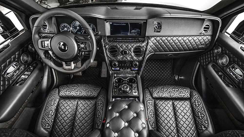 Chrome Hearts Rolls-Royce Interior