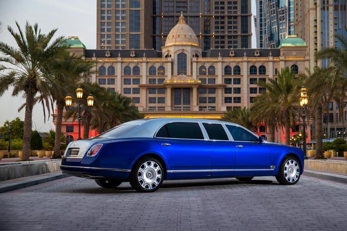 Bentley Mulsanne Grand Limousine For Sale
