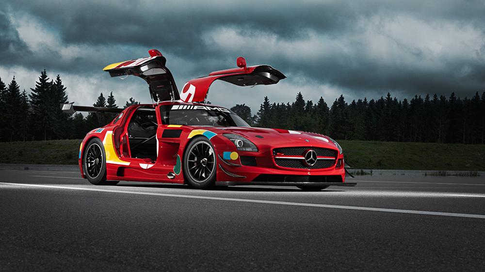 "Mercedes-Benz SLS AMG GT3 ""50 Years Legend of Spa"""