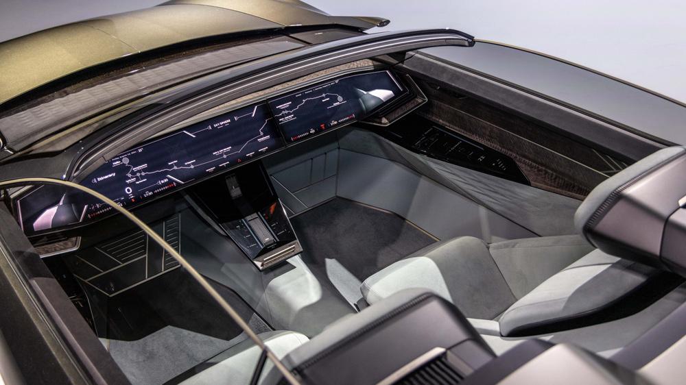 Audi Skysphere EV Concept Interior